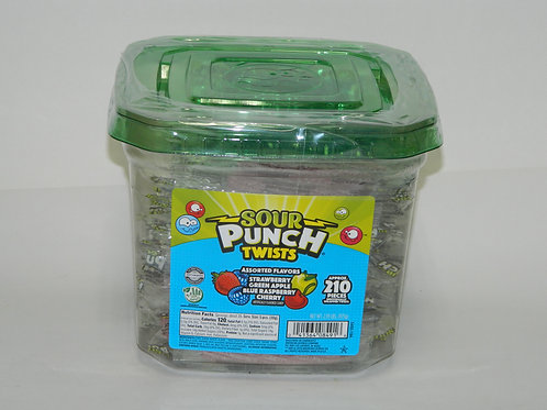 Sour Punch Twist Assorted (210 ct.)