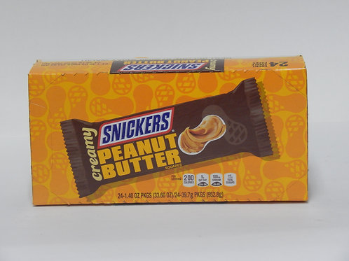 Snickers Peanut Butter (Case of 24)