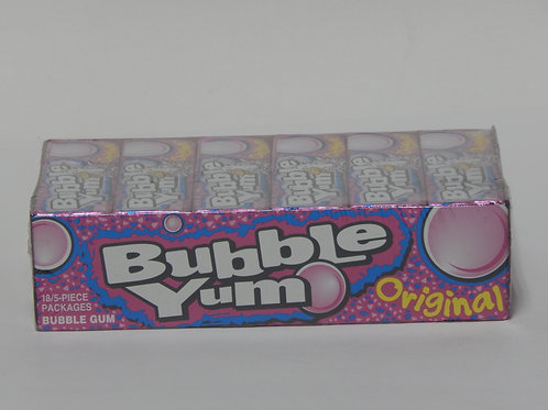 Bubble Yum - Original (18 pack)