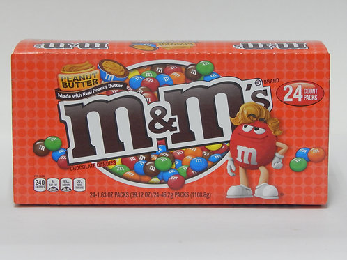 M&M Peanut Butter (Case of 24)