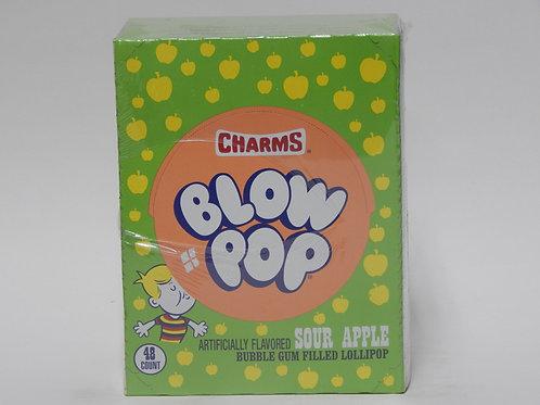 Blow Pops Sour Apple (48 ct.)