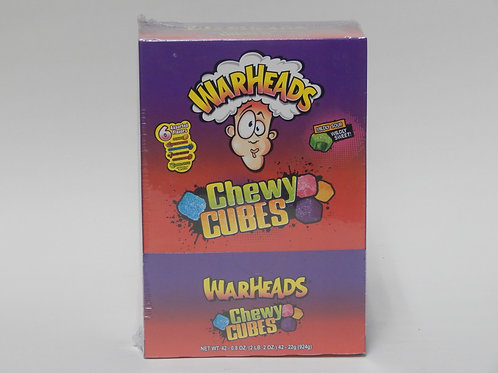 War Heads Chewy Cubes (42ct)