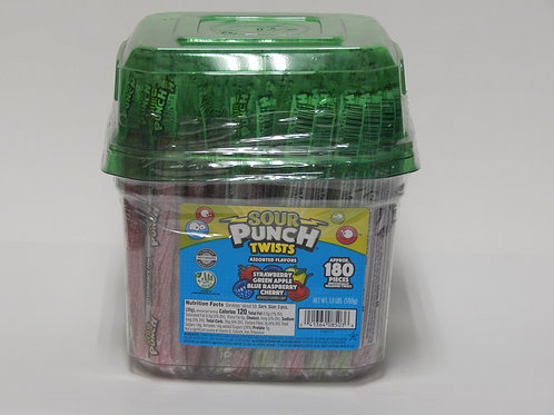 Sour Punch Twist Assorted (180 ct.)