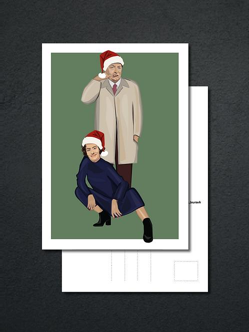 God jul fra Fleksnes