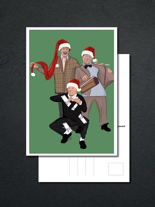 God jul fra Olsenbanden