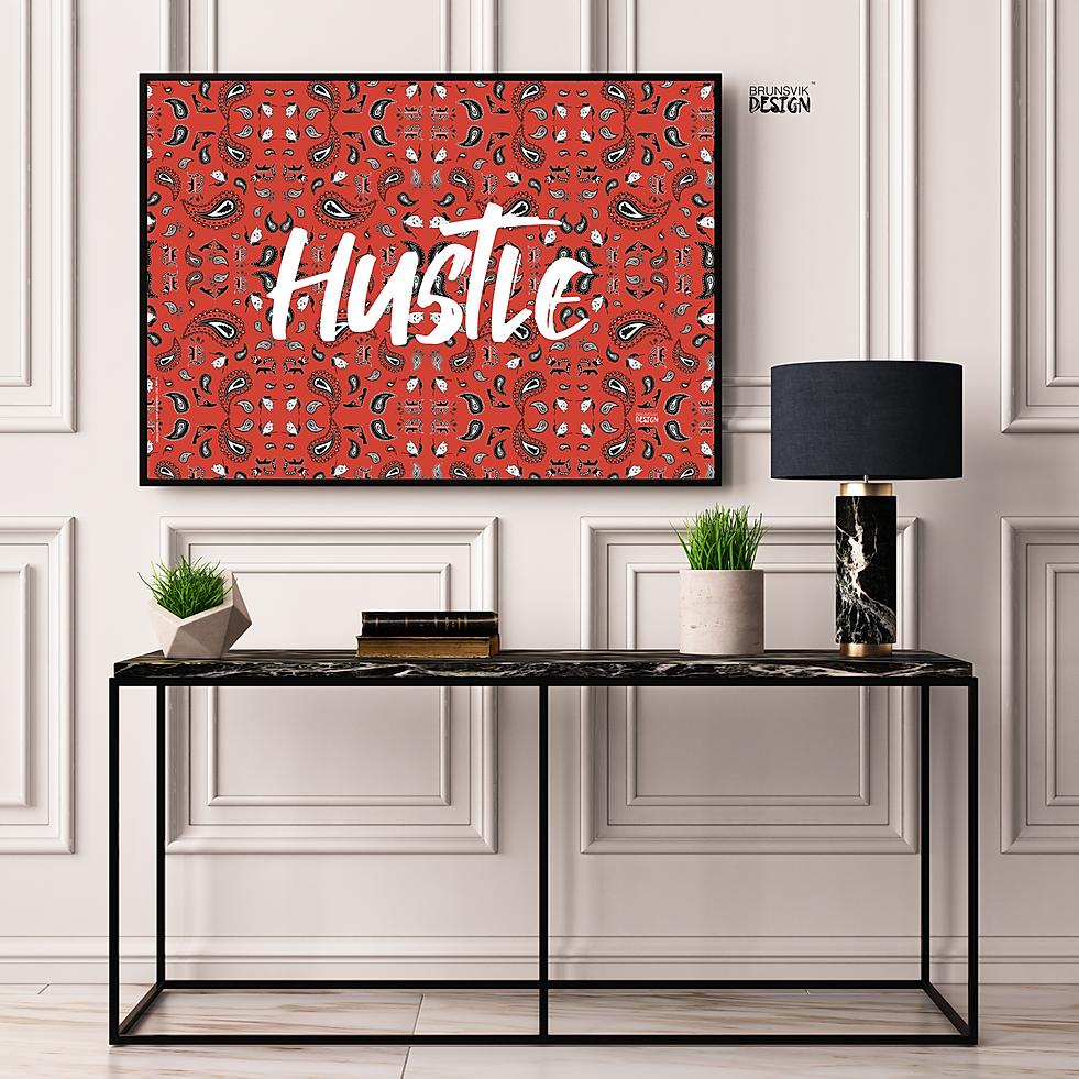 mock hustle rød 50x70.png