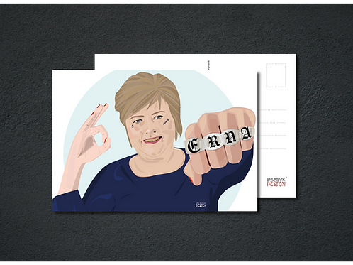 JernErna postkort