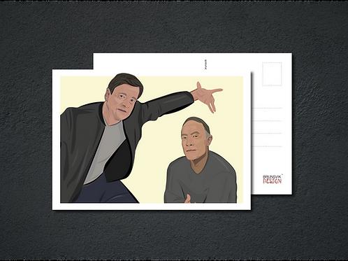 Elden & DeVibe - Postkort