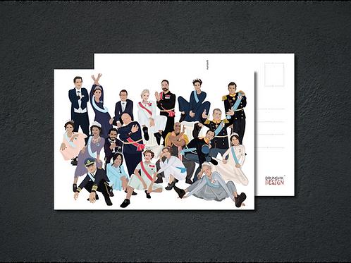 Blended Royal Squads - SE, NO, DK - Postkort