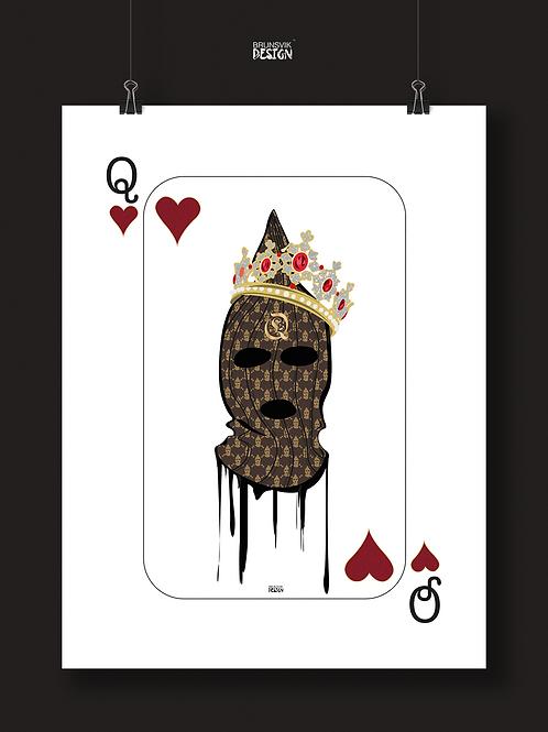 Queen card