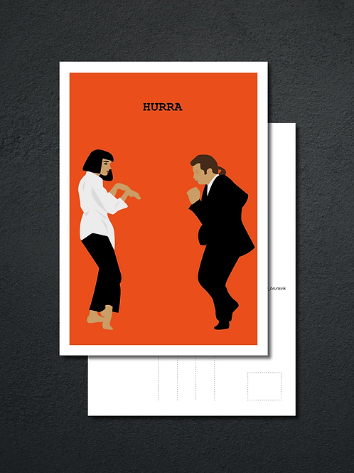 Hurra - Postkort
