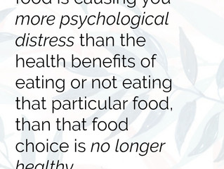 Health is Not in the Details...