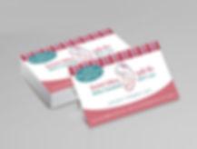עיצוב כרטיס ביקור ליועצת לרפלוקס