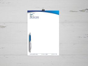 עיצוב נייר מכתבים לסיגל