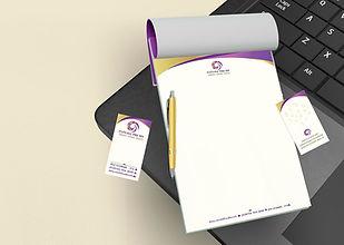 מיתוג גרפי עיצוב ניירת עסקית