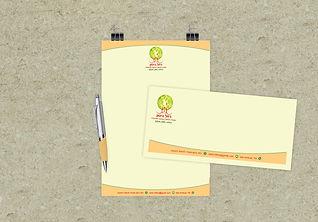 עיצוב לוגו וניירת עסקית למטפלת