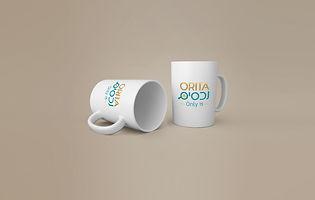 עיצוב לוגו לאוריתה - הדמייה על כוס.jpg