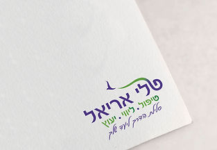 עיצוב לוגו לטלי על נייר לוגו