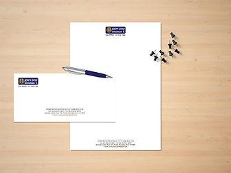 עיצוב ניירת עסקית לעורך דין