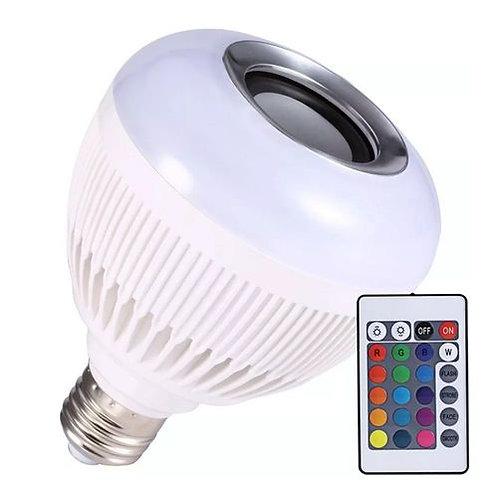 LUATEK - Lâmpada LED colorida com Alto Falante