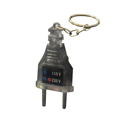 Chaveiro identificador de voltagem - 110v / 220v