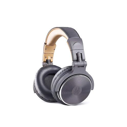 Oneodio Studio DJ Pro 10 G (cinza com dourado)