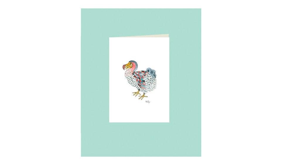 """Carte postale """"dodo"""""""