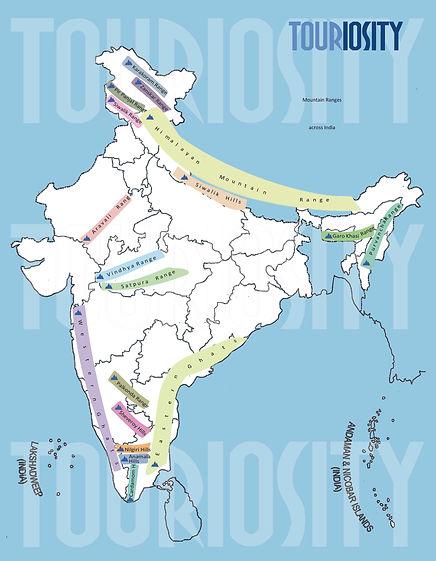 Mountain Ranges of India