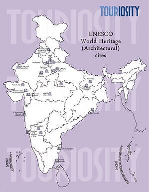 Unesco World Heritage (Architecture) sites of India