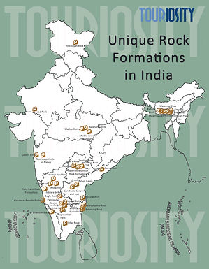 Unique Rock Formations in India