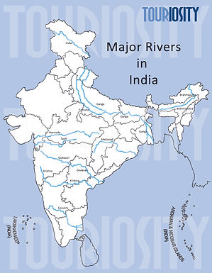 Major Rivers in India