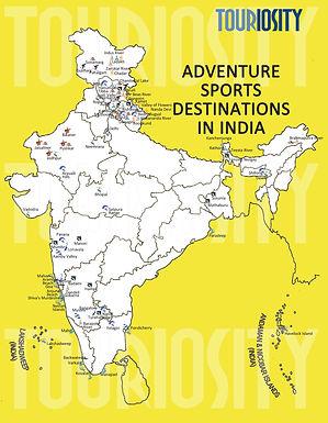 Adventure Sports Destinations in india