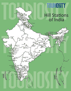 Important Hill Stations of India
