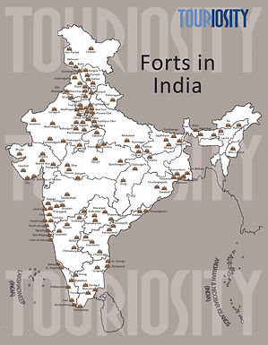 Major Forts of India