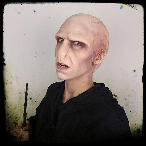 Prothèse Voldemort en foam latex