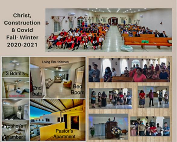 Christ, Construction & Covid