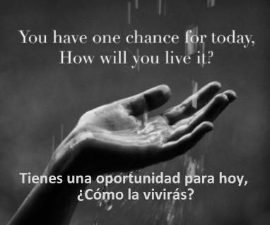 How to Live Today / Cómo Vivir Hoy