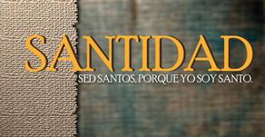 """""""Sed santos, porque YO SOY santo""""  1 Pedro 1:13-2:12"""