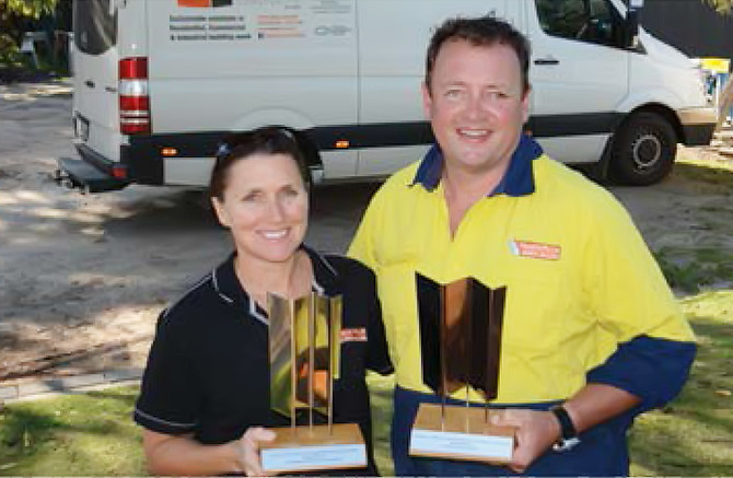 Double trophies for KI builder