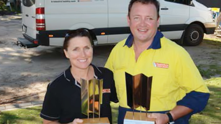 Double trophies for KI builder