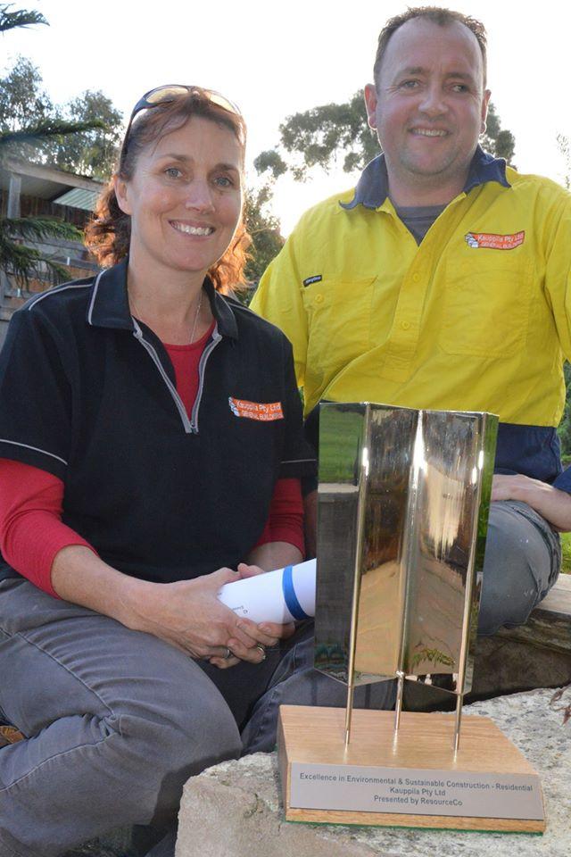 Locals win prestigious award