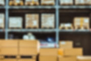 stack-cardboard-boxes-smart-warehouse-in