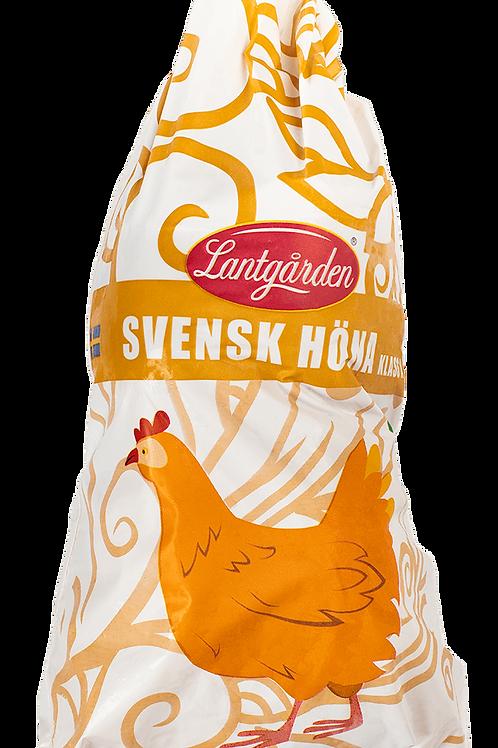 Höna Svensk 800-1200g