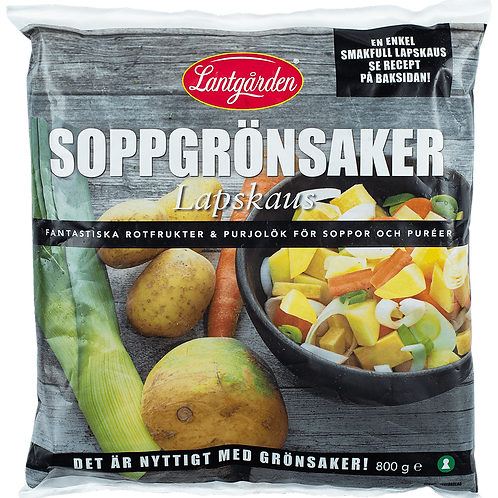 Lapskaus / Soppgrönsaker 800g