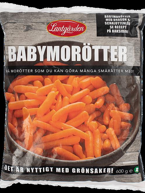 Babymorötter 600g