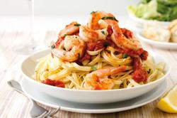Vannameiräkor pasta