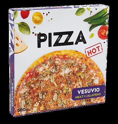 Pizza Vesuvio hot