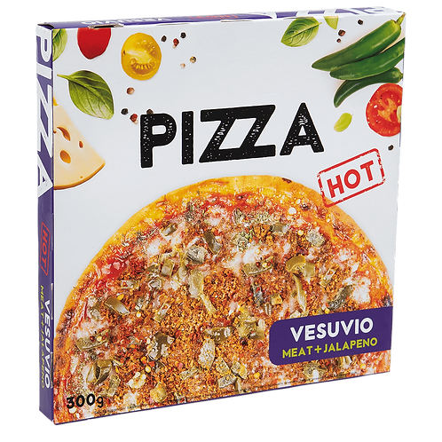 "Pizza Vesuvio ""HOT"" 300g"
