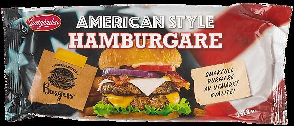 Hamburgare American style 4-pack