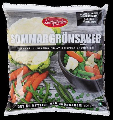 Sommargrönsaker 800g
